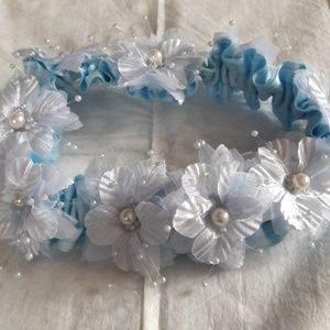 Other - Baby girl light blue headband